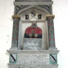 Photo:Monument to Dr Jeremiah Radcliffe